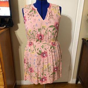 Pink Floral Old Navy Dress